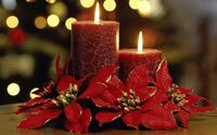 Christmas candles wallpaper 1920x1080 jpg