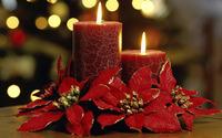 Christmas candles wallpaper 1920x1080 jpg