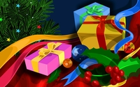 Christmas decoration wallpaper 1920x1200 jpg