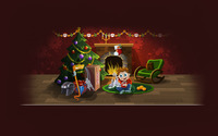 Christmas night wallpaper 1920x1200 jpg