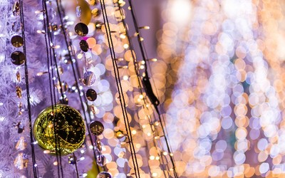 Christmas ornaments [2] wallpaper