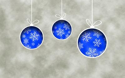 Christmas ornaments [4] wallpaper