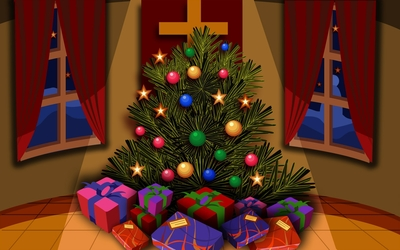 Christmas tree [3] wallpaper