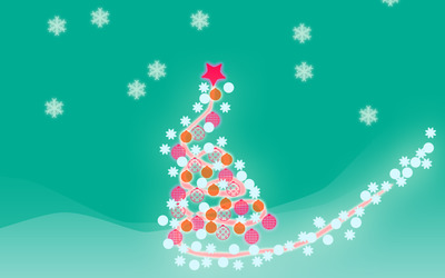 Christmas tree [8] wallpaper