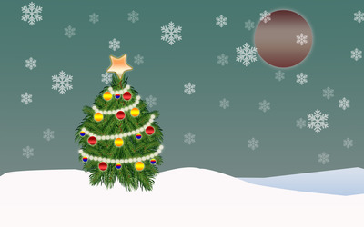 Christmas tree [11] wallpaper