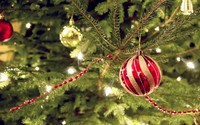 Christmas tree bauble [2] wallpaper 2560x1600 jpg