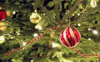 Christmas tree bauble [2] wallpaper 2560x1600 jpg