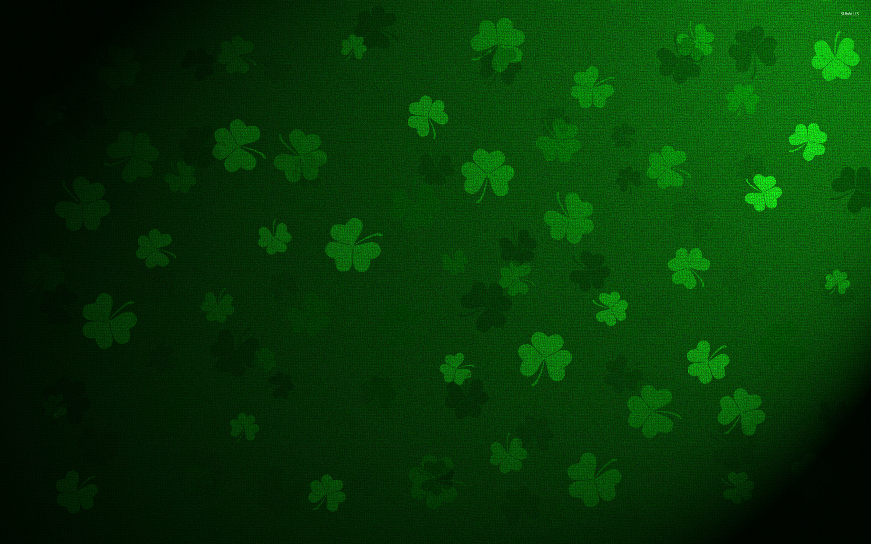 Clovers 2 Wallpaper  Holiday Wallpapers 28345