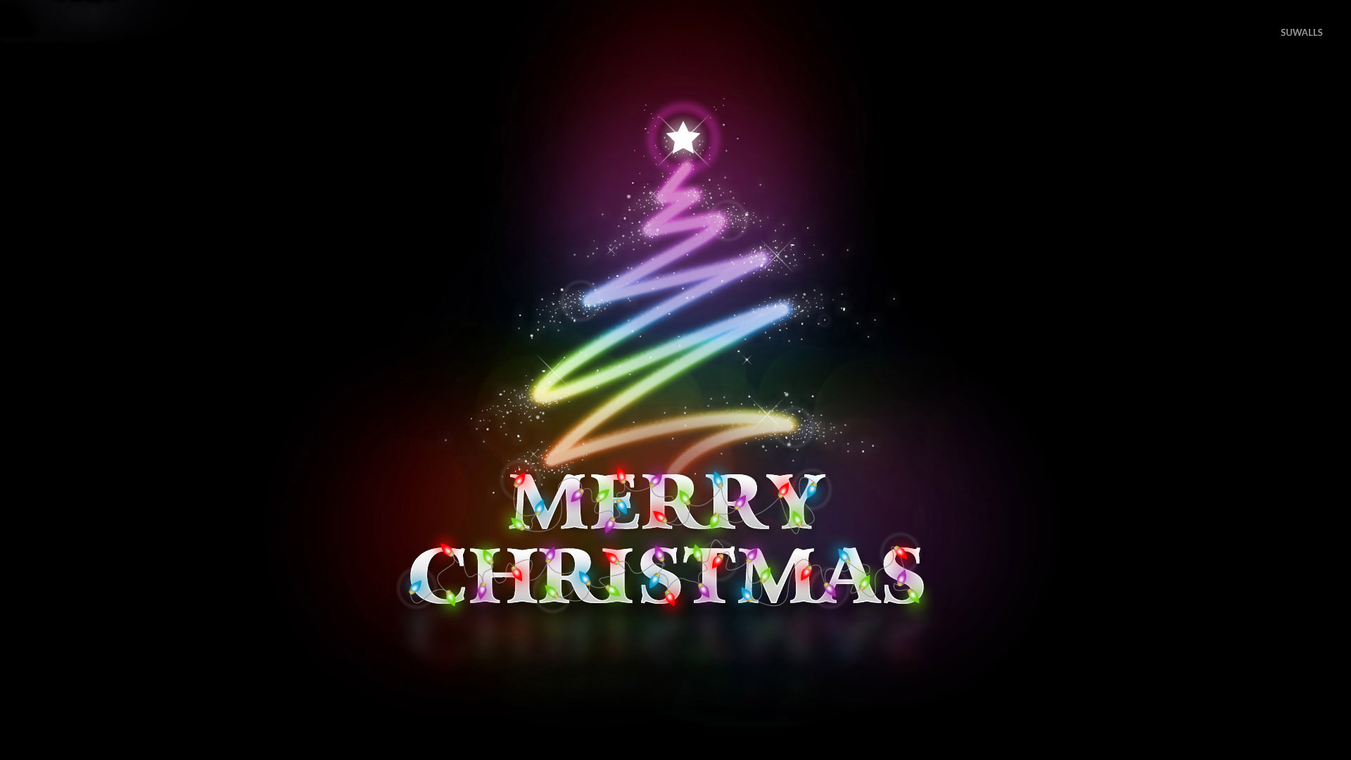 Colorful Merry Christmas Wallpaper Holiday Wallpapers 50611