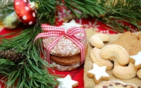 Cookies for Santa on Christmas Eve wallpaper 1920x1080 jpg