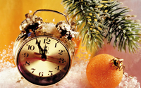 Counting time until New Year wallpaper 2560x1600 jpg