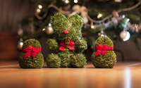 Cute Christmas decorations wallpaper 1920x1200 jpg