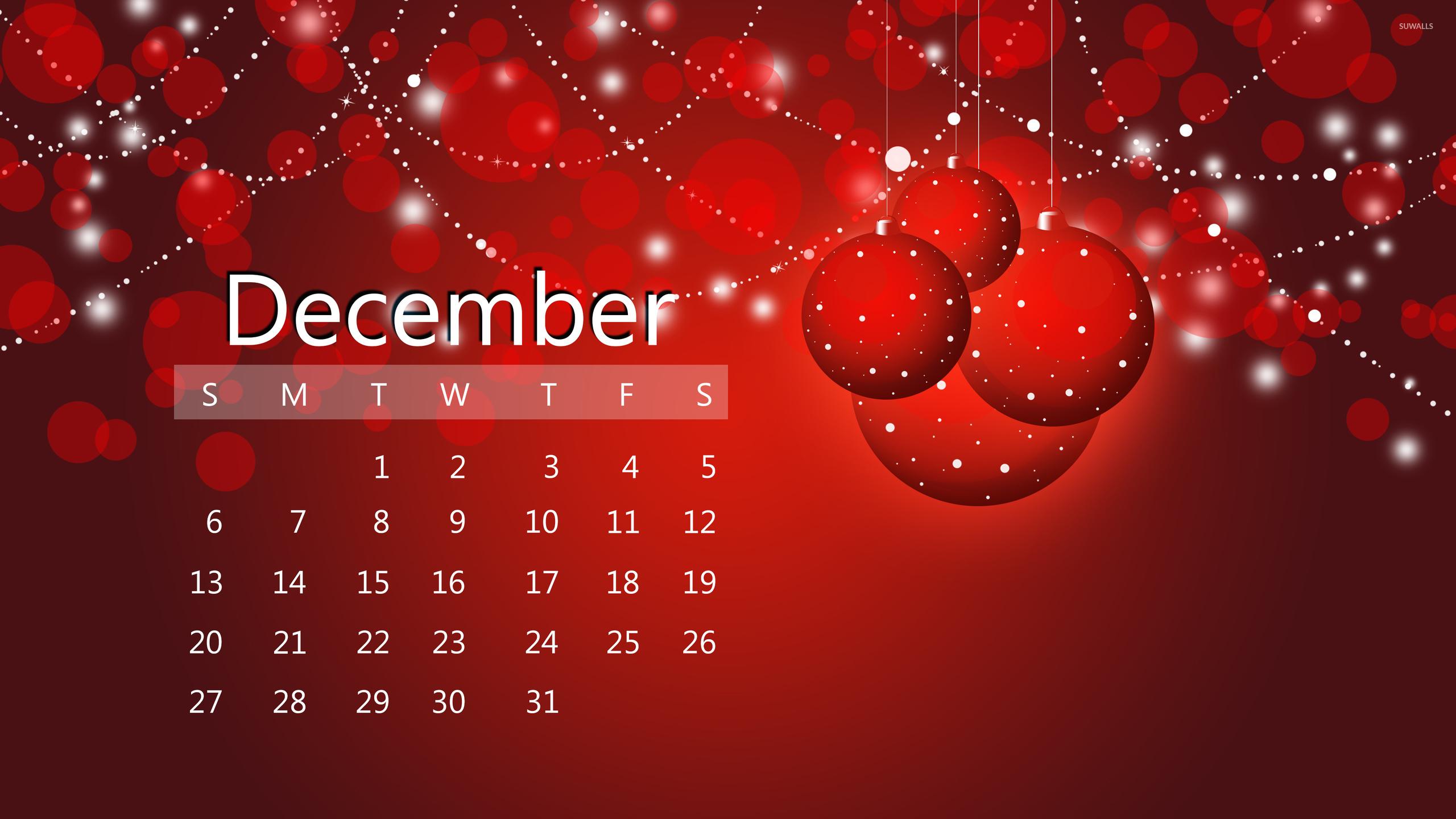 Christmas Calendar Wallpaper : December red calendar wallpaper holiday wallpapers