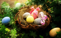Easter eggs [2] wallpaper 1920x1080 jpg