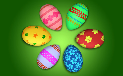 Easter eggs [15] wallpaper