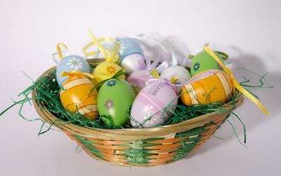 Easter eggs [17] wallpaper