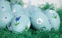 Easter eggs in the grass wallpaper 2880x1800 jpg