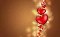 Floating hearts wallpaper 2880x1800 jpg