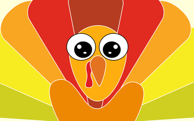 Funny turkey wallpaper