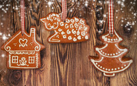 Gingerbread cookies wallpaper 1920x1200 jpg