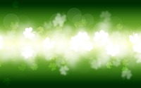 Glowing clovers wallpaper 3840x2160 jpg