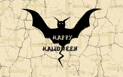Halloween bat wallpaper