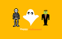 Halloween costumes wallpaper 3840x2160 jpg