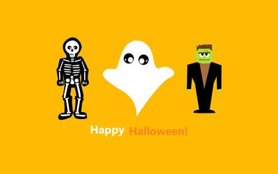Halloween costumes wallpaper