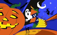 Halloween creatures wallpaper 1920x1200 jpg