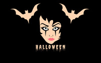 Halloween face wallpaper 2880x1800 jpg