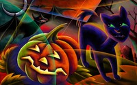 Halloween night [3] wallpaper 1920x1200 jpg