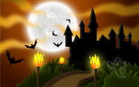 Halloween night [2] wallpaper 2880x1800 jpg