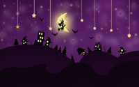 Halloween night wallpaper 2880x1800 jpg