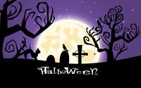 Halloween night in the graveyard wallpaper 3840x2160 jpg