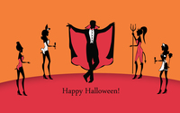 Halloween party wallpaper 3840x2160 jpg