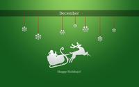 Happy December Holidays wallpaper 1920x1080 jpg