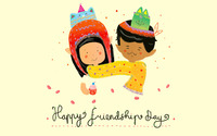 Happy friendship day wallpaper 2880x1800 jpg