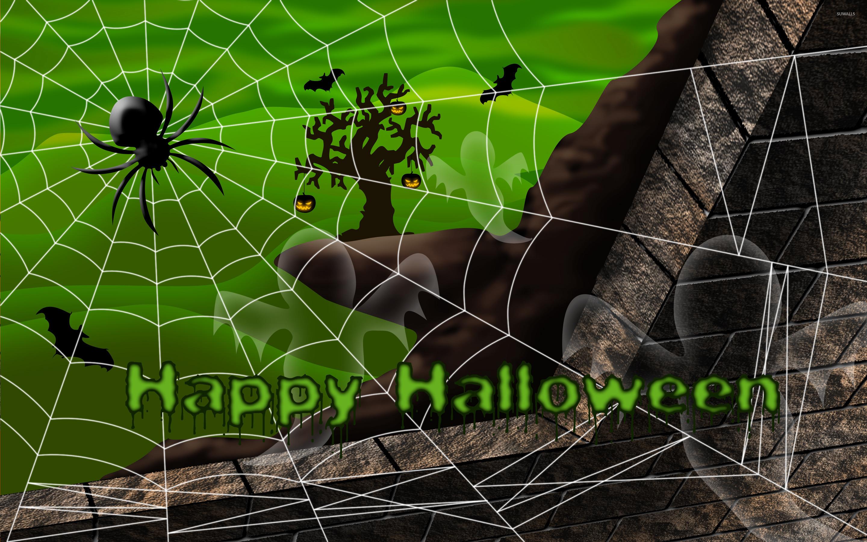 Beautiful Wallpaper Halloween Spider - happy-halloween-23591-2880x1800  Graphic_355594.jpg