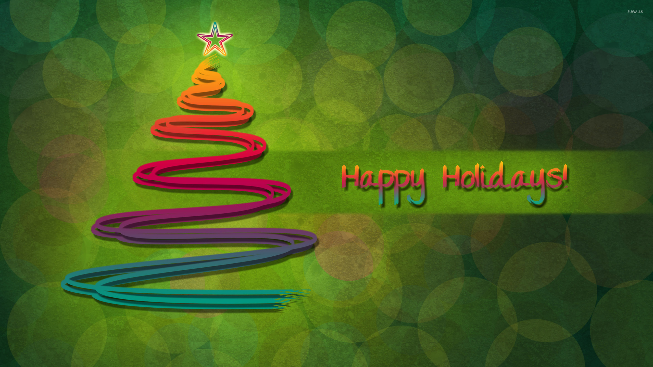 happy holidays 2 wallpaper holiday wallpapers 16655
