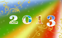 Happy New Year 2013 wallpaper 2880x1800 jpg