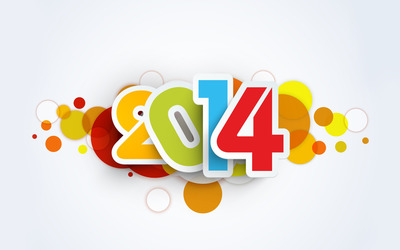 Happy New Year 2014 wallpaper