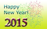 Happy New Year 2015 wallpaper 2880x1800 jpg