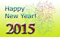 Happy New Year 2015 wallpaper 2880x1800 jpg