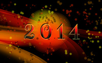 Happy New Year [5] wallpaper 2880x1800 jpg