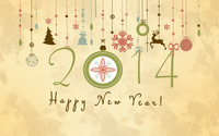 Happy New Year [4] wallpaper 2880x1800 jpg