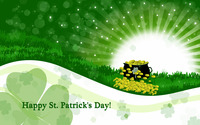 Happy Saint Patrick's Day! wallpaper 2880x1800 jpg