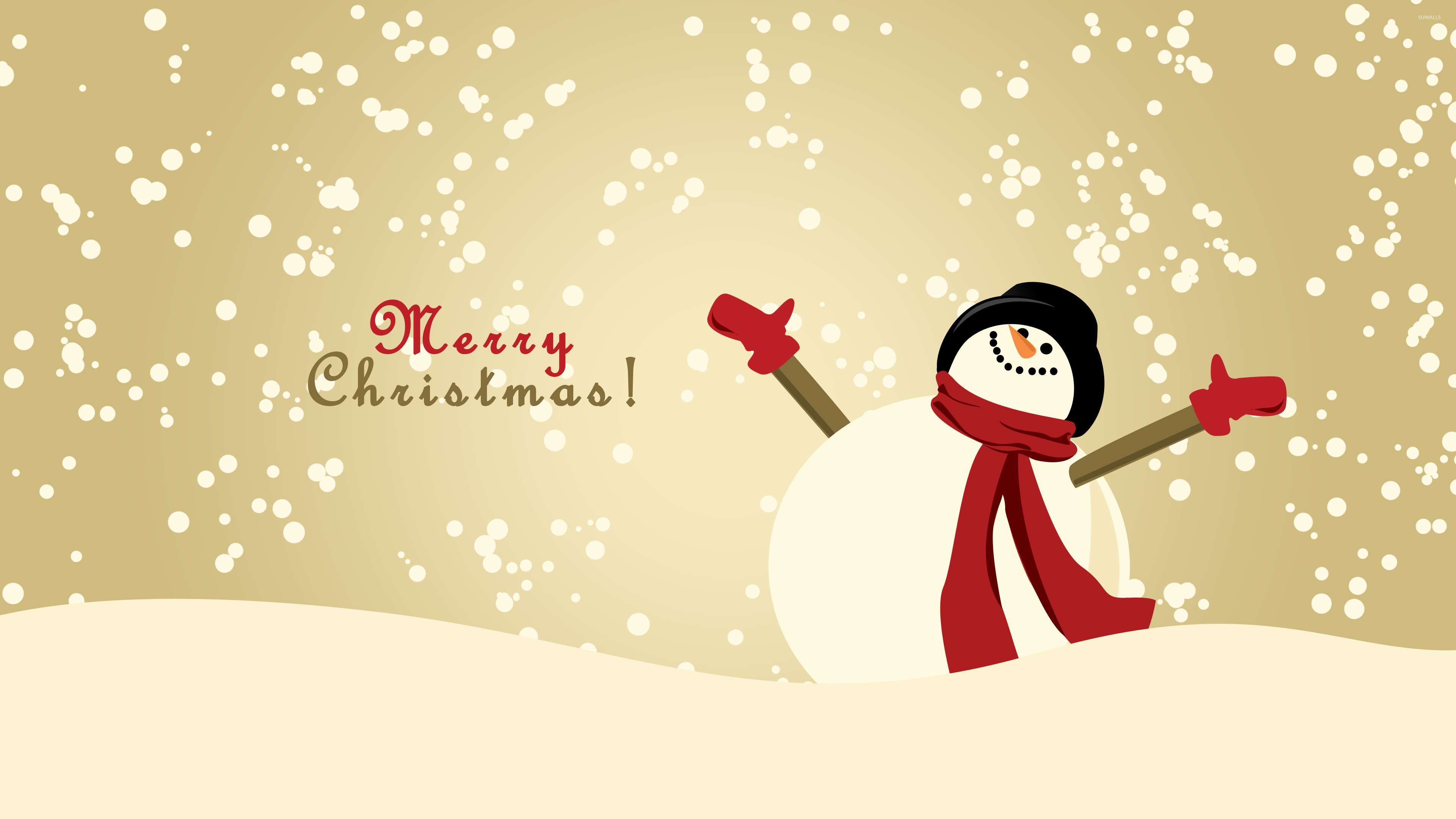 happy snowman 2 wallpaper holiday wallpapers 51112