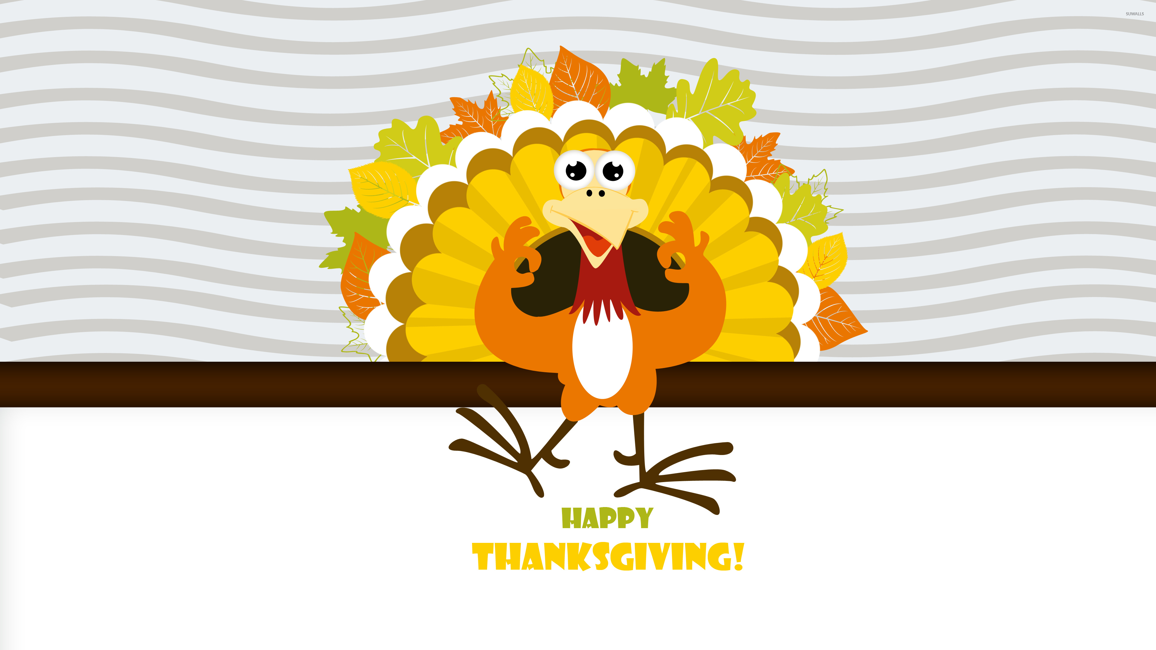 Happy thanksgiving turkey wallpaper holiday wallpapers 50081