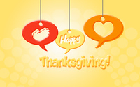 Happy Thanksgiving wish wallpaper 3840x2160 jpg