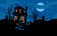 Haunted house [2] wallpaper 2880x1800 jpg